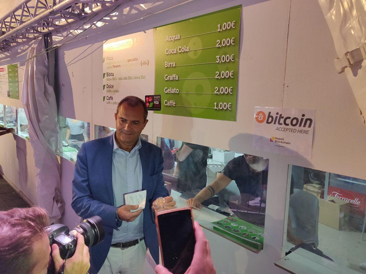 Pizza Village 2019: si accettano Bitcoin con il nostro POS NAPay